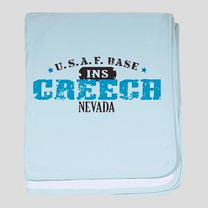 Creech Air Force Base Infant Blanket