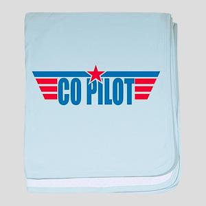 Co Pilot Wings baby blanket