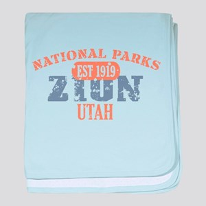 Zion National Park Utah baby blanket