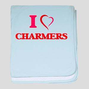 I love Charmers baby blanket