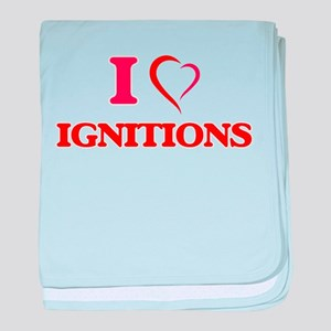 I love Ignitions baby blanket