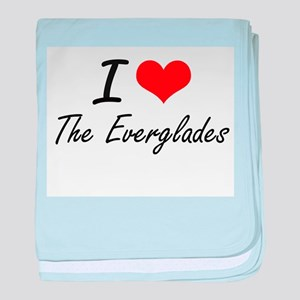 I love The Everglades baby blanket