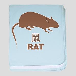Rat baby blanket