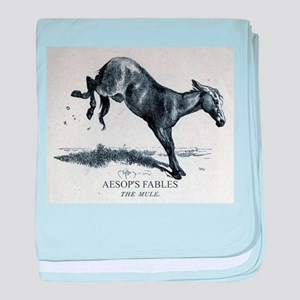 Harrison Weir - The Mule - Aesop - 1867 baby blank