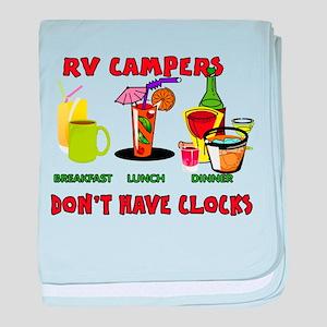 RV CAMPERS baby blanket