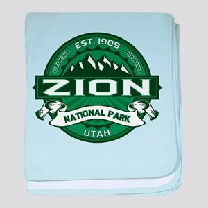 Zion Logo Forest baby blanket