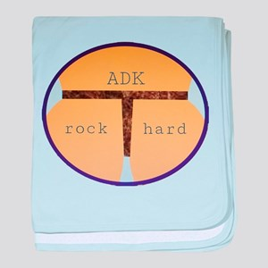 ADK Rock Hard baby blanket
