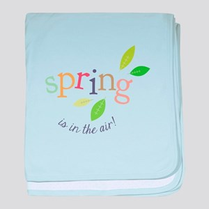 Spring In The Air baby blanket