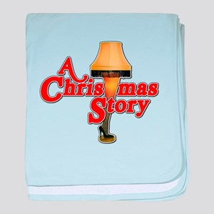 A Christmas Story Movie Lamp baby blanket