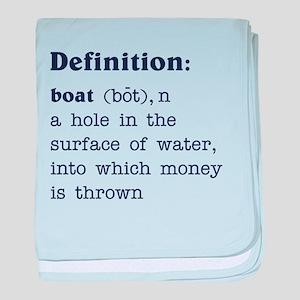 Boat Definition Infant Blanket