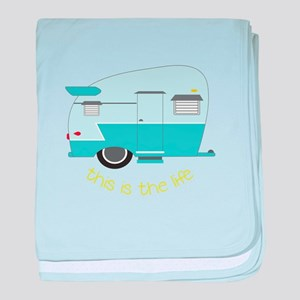 This Is The Life baby blanket