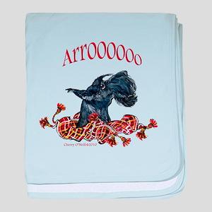 Arroo Scottish Terrier baby blanket