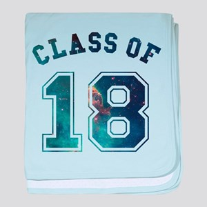 Class of 18 Space baby blanket