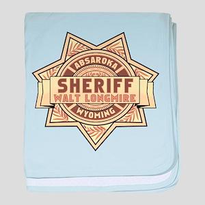 Sheriff Longmire baby blanket