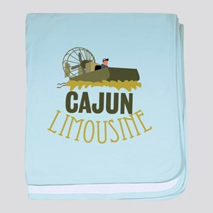 Cajun Limousine baby blanket