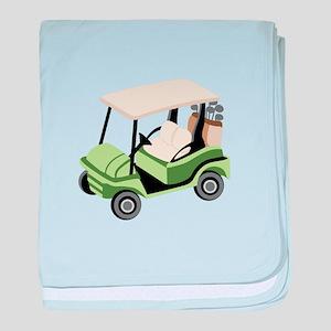 Golf Cart baby blanket