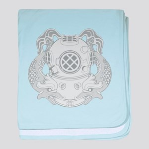 First Class Diver baby blanket