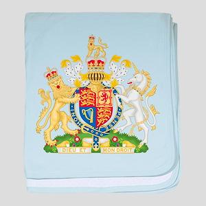 Royal COA of UK baby blanket