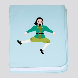 Leaping Lord baby blanket