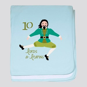 10 loRDS a- leaPiNG baby blanket