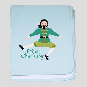 Prince Charming baby blanket