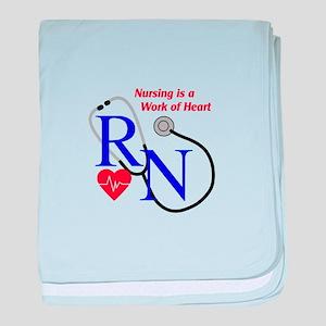 WORK OF HEART baby blanket