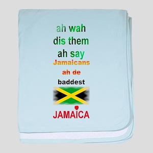 Jamaicans ah de baddest - Infant Blanket