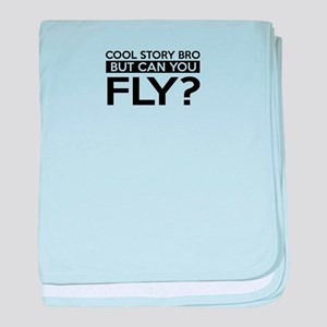 Fly job gifts baby blanket