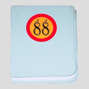 Number 88 baby blanket