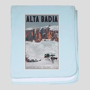 Alta Badia baby blanket