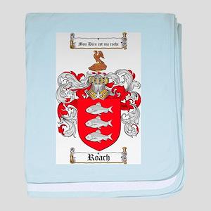 Roach Coat of Arms baby blanket
