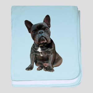 French Bulldog Puppy Portrait baby blanket