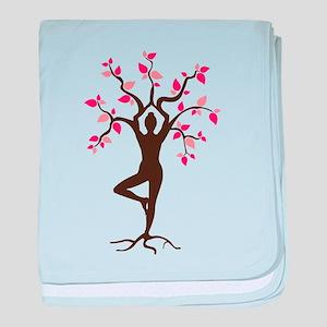 Yoga baby blanket