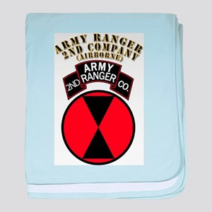 SOF - Army Ranger - 2nd Company baby blanket