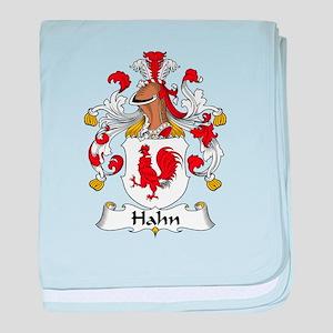 Hahn baby blanket