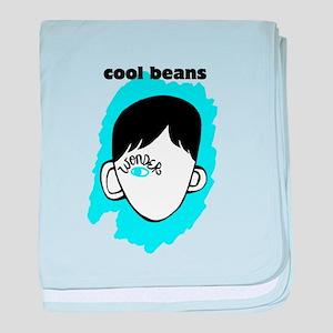"WONDER ""Cool Beans"" baby blanket"