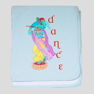 Hare Krishna Dance ! baby blanket