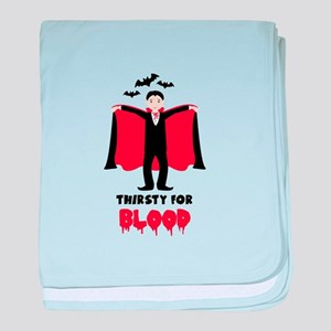 Thirsty For Blood baby blanket