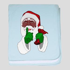 African Santa Clause baby blanket