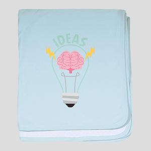 Light Bulb Ideas baby blanket