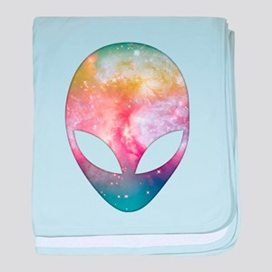 Cosmic Alien baby blanket
