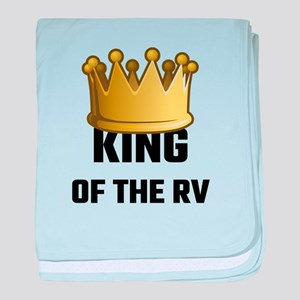 King Of The RV baby blanket