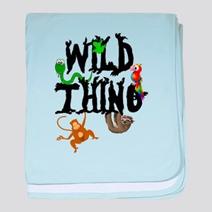 Wild Thing baby blanket