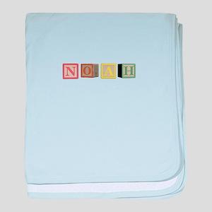 Noah Alphabet Block baby blanket