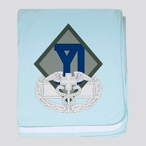 26th Infantry CFMB baby blanket