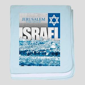 Jerusalem, Israel baby blanket