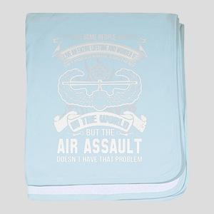 Air Assault baby blanket