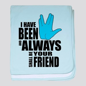 Spock Friend baby blanket