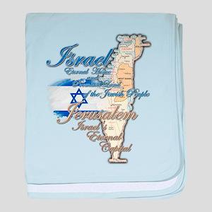 Israel, Jerusalem - baby blanket