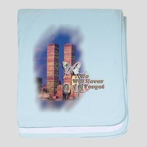 September 11, we will never forget - baby blanket